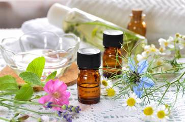 Essential Oil and Natural Cosmetics